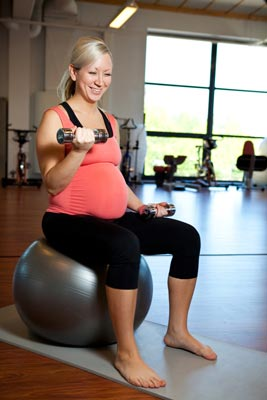 Pregnancy resistance exercise
