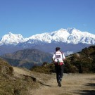Running through Himilayas